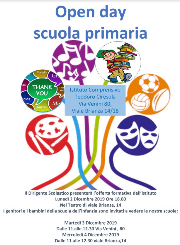 openday primaria