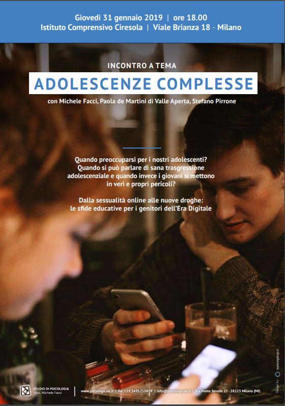 Adolescenze complesse